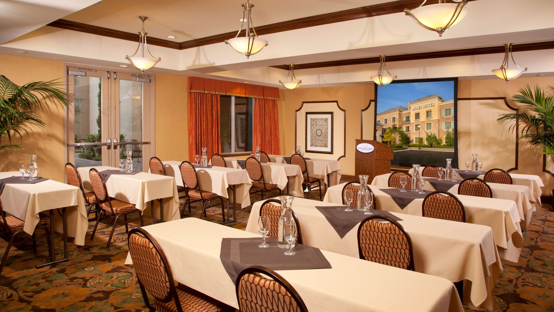 Ayres Hotel Chino Hills Meeting Room