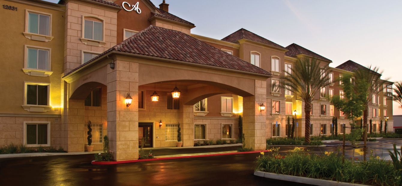 Ayres Hotel & Spa Moreno Valley Exterior Front Entrance